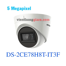 Camera HD-TVI 5.0 Megapixel HIKVISION DS-2CE78H8T-IT3F