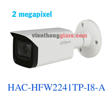Camera HDCVI 2MP Dahua HAC-HFW2241TP-I8-A