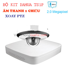 Trọn bộ KIT IP POE 1 camera 2.0mp DAHUA - TS1P
