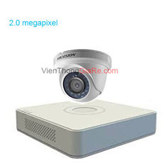 Trọn bộ 1 camera HIKvision CMR-156D0T-IRP