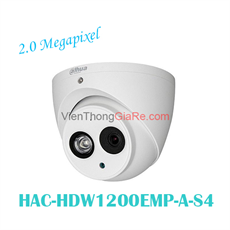 Camera Dome 4 in 1 hồng ngoại 2.0 Megapixel DAHUA HAC-HDW1200EMP-A-S4